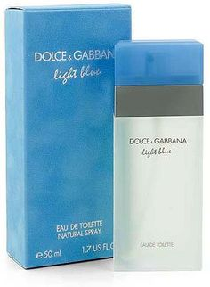 D Light Blue Dolce perfume for women (2001) - a fantastic classic! Smells a bit more sophisticated and watery than I Love Love by Moschino (which is one of my all time favourite perfumes!)