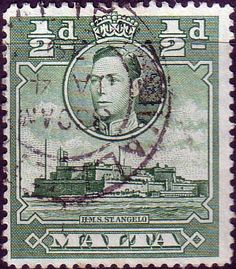 Malta 1938 King George VI SG 218 Fine Used Scott 192 Other European and British Commonwealth Stamps HERE!