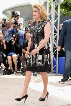 Catherine Deneuve Cannes 2014