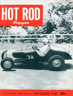 HOT ROD, September 1948. See all HOT ROD covers at…