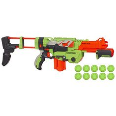 "Nerf Vortex Praxis Blaster - Hasbro - Toys ""R"" Us Alex Nerf Gun, Nerf Toys, Toys R Us, Cool Toys, At Least, Fire, Fun Time, Christmas Ideas, Christmas Gifts"