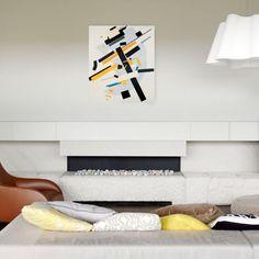 MALEVICH - Suprematismo n 58 67x79 cm #artprints #interior #design #art #print #iloveart #followart  Scopri Descrizione e Prezzo http://www.artopweb.com/categorie/astratti/EC21830