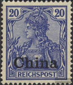 German-Post-China-18-used-1901-print-edition