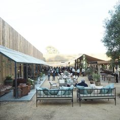 Dreamy opening party at the new and totally awesome Soho Farmhouse last week //