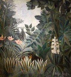 Jungle. Le Douanier Rousseau.