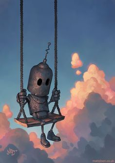 Submission to 'More Of My Robots Enjoying The Quiet Wonder Of The World'