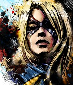 Captain Marvel - by Vincent Vernacatola - Google-Suche °°