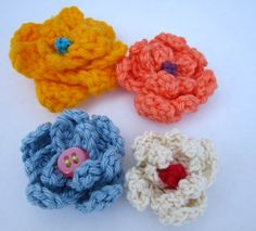 Another crochet flower. Free download