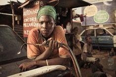 No Man's Job: Portraits of Senegal's Female Auto Mechanics. A photographic series by Anthony Kurtz