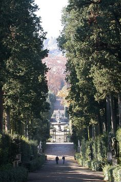 Boboli Gardens. Florence, Italy. One of my favorite (and most frequently visited) places in Florence....