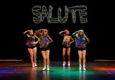 Little Mix Tribute - Salute Choreography