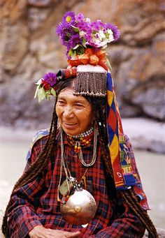drokpa tribal woman, dha hanu, ladakh by click-n-joy!, via Flickr