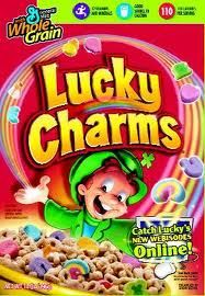 "1. Target market: kids/ children 2. Jingle/Tagline: ""Always After My Lucky Charms- They're Magically Delicious!"" 3. Promotional techniques: using marshmallows, bright colors, and young kids chasing a leprechaun"