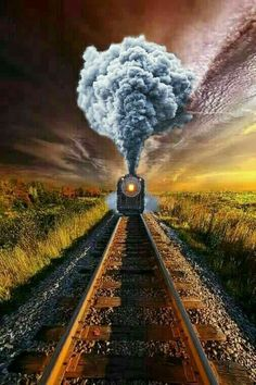 Steam Train at Dawn Studio Background Images, Dslr Background Images, Photo Background Images, Picsart Background, Photo Backgrounds, Train Posters, Train Art, Train Pictures, Fall Pictures