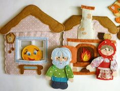 Фотография Preschool Art, Preschool Activities, Quiet Book Templates, Cross Stitch Fruit, Finger Puppets, Felt Crafts, Arts And Crafts, Embroidery, Dolls
