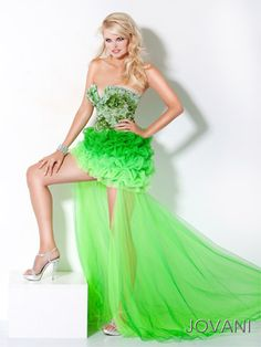 Shop for Jovani prom dresses and ball gowns at PromGirl. Designer prom gowns, elegant evening gowns for galas, and long designer pageant gowns. Lime Green Prom Dresses, Ombre Prom Dresses, Prom Dresses Jovani, Prom Dresses 2017, Designer Prom Dresses, Prom Dresses Online, Dress Prom, Green Dress, Party Dresses
