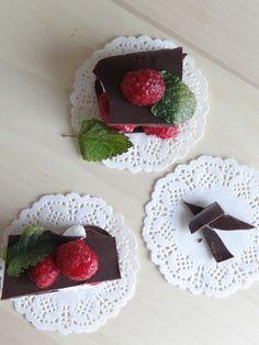Chocolate cream millefeuille