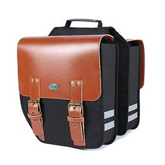 Favorite Camping Gear  | Pannier KINGSWELL 14L Black Mountain Bicycle Double Luggage bag BrownPannier KINGSWELL 14L Black Mountain Bicycle Double Luggage bag Brown * See this great product. Note:It is Affiliate Link to Amazon.