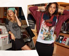 Juniors' Sweater & Outerwear Lookbook