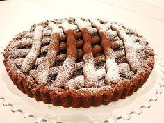 Chocolate Almond Linzer Torte....  an Austrian Pastry...  www.majaskitchen.com
