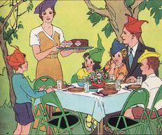 :: Sweet Illustrated Storytime ::  Illustration from Vintage Children's Books