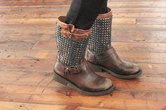 studded boots #freepeopleblog