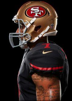 Kaepernick #49ers #whodoyoulove colin