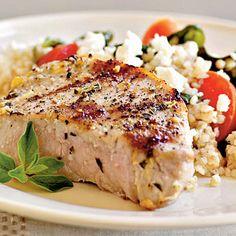 Pork Chops Oreganata Recipe < 25 Healthy Pork Chop Recipes - Cooking Light