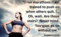 Motivational Poster #86 | Runner's World & Running Times; climb for air is 3 months away... Gotta start training :-/
