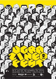 Recheado de atividades como palestras, bate-papos, exposições e feira de troca e venda de publicações indie, o Ugra Zine Fest 2015 rola neste fim de semana (19 e 20/9)...