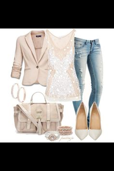 www.polyvore.com   Lacey Lunch Date