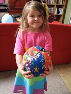 Mad Quilter: Free pattern for a Balloon Ball ( Balloon Cover.)