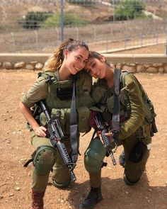 Take advantage of affection photos when there are enough guns and uniforms. Military Women, Military Police, Military Jacket, Israeli Girls, Save The World, Idf Women, Brave Women, Female Soldier, Badass Women