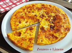 FRITTATA RUSTICA | ricetta semplice | Zenzero e Limone