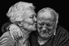 """Michael Schmidt - """"An Italian couple married for decades is still affectionate and in love."""""""