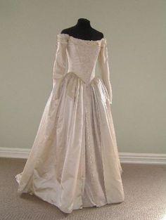 1700s wedding dresses