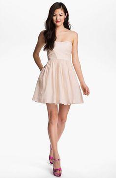 Lisanne lace bustier dress