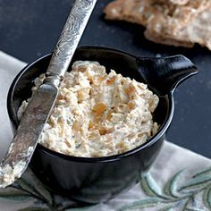 Healthy Dips | Warm Caramelized Onion Dip | CookingLight.com