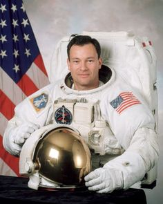 """Michael Eladio """"LA"""" López-Alegría (also known as Miguel López-Alegría) b. May 30, 1958, is a Spanish-American astronaut; a veteran of three Space Shuttle missions and one International Space Station mission. He is known for having performed ten EVAs so far in his career, presently holding the #2 all-time EVA duration record and having the longest spaceflight of any American at the length of 215 days; this time was spent on board the ISS from September 18, 2006 to April 21, 2007."""