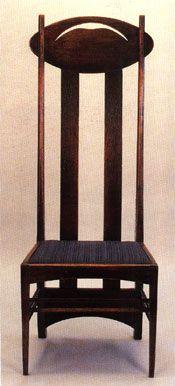 Charles Rennie Mackintosh Argyle Chair.