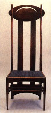 Charles Rennie Mackintosh Argyle Chair.