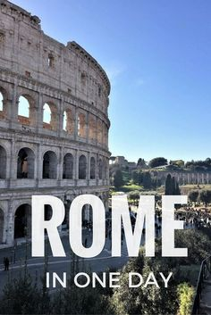 What can you see in Rome in one day? While 24h in Rome are not enough to visit this unique city, if you are prepared to walk you can see most of Rome's main attractions in just one day. Follow this itinerary touching on Rome's main buildings and sights, including the Colosseum, the Pantheon, Piazza Navona and a lot more