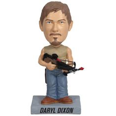 Get it here: https://amzgt.com/w138 Funko Walking Dead: Daryl Wacky Wobbler _________________________________________ - Zombie fighter - Collect them all - Perfect for your desk or shelf #Daryl #twd #thewalkingdead #walkingdead #AMC #thewalkingdeadshop #walkingdeadshop