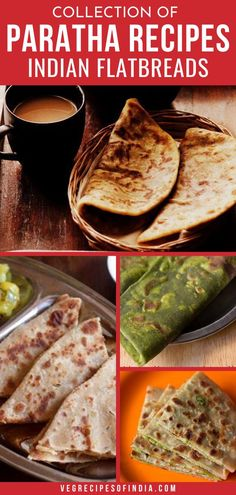 Paratha is a stuffed bread from Northern India. They are often stuffed with potato (aloo) or cauliflower (gobi) and are usually a breakfast item. They can be served plain but are usually served with… More Veg Recipes Of India, North Indian Recipes, South Indian Food, Indian Food Recipes, Punjabi Recipes, Veg Dishes, Cooking Dishes, Cooking Recipes, Kid Veggie Recipes
