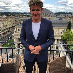 Gordon Ramsay @Grand Hotel de Bordeaux Pressoir d argent