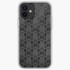 Skull Damask Wallpaper iPhone Case & Cover