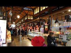 Mercado de San Miguel en Madrid, como muchos en España no tienes para donde dejar de mirar y salivar.