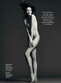 Spanish Nakedness : Vanessa Lorenzo, Nieves Alvarez, Bimba Bosé and Laura Ponte by Nico for Harper's Bazaar Spain May 2013 | #inspiredby