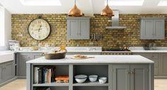 The Kitchen photo 11 Shaker Style Kitchen Cabinets, Shaker Style Kitchens, Kitchen Cabinet Styles, Shaker Kitchen, Devol Kitchens, Home Kitchens, Luxury Kitchens, Kitchen Dining, Kitchen Decor