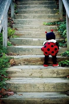 cant wait to dress my kid up as a ladybug!